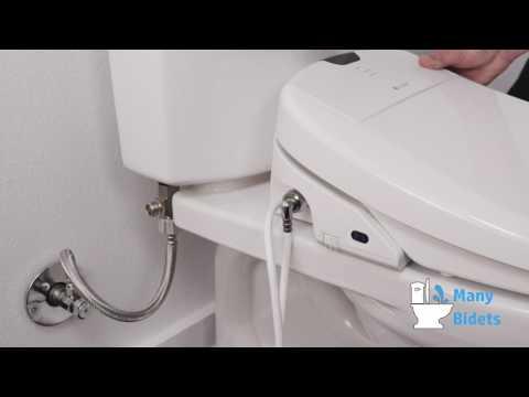 Installing A Brondell Swash Bidet Seat Youtube