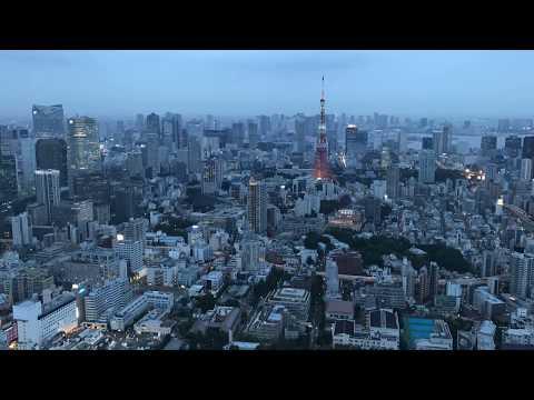 Tokyo Roppongi Hills Mori Tower Timelapse