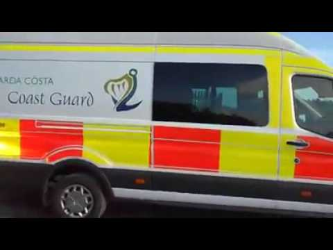 Irish Coast Guard Ford Transit
