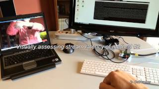 Wirelessly streaming a video from a Raspberry to a remote laptop
