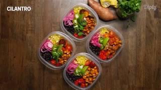 Super Easy Buddha Bowl Meal Prep