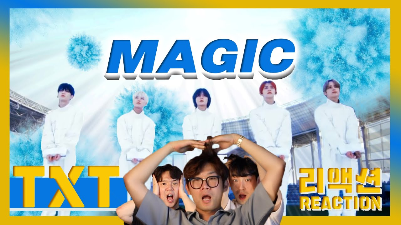 [ENG] TXT - 'Magic' (Reaction) / 투모로우바이투게더 - 매직 리액션🎬