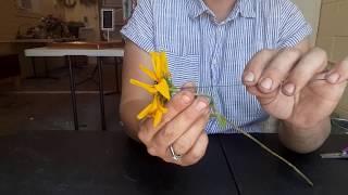 Straight Stem Flower Wiring