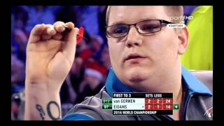 Darts WM 2016 [Finale] ANDERSON vs LEWIS [Part 1] (Deutscher Kommentar)