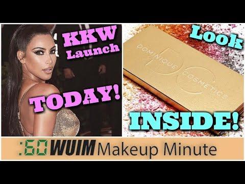 New KKW Beauty Launch TODAY! Dominique Cosmetics Lemonade Palette REVEALED! | Makeup Minute
