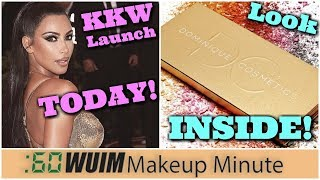 New KKW Beauty Launch TODAY! Dominique Cosmetics Lemonade Palette REVEALED! | Makeup Minute
