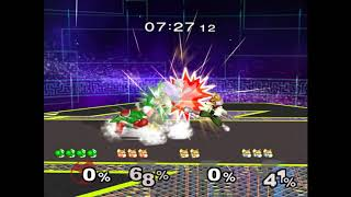 I love abusing Yoshi's parry in a TAS, so I thought it would be fun...