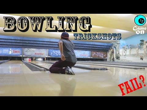 BOWLING TRICKSHOTS Indonesia | Dude Perfect Asia Fail