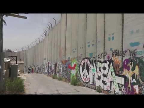 West Bank, Palestine: Banksy Art and the Barrier Wall (約旦河西岸 巴勒斯坦)(웨스트 뱅크 팔레스타인)