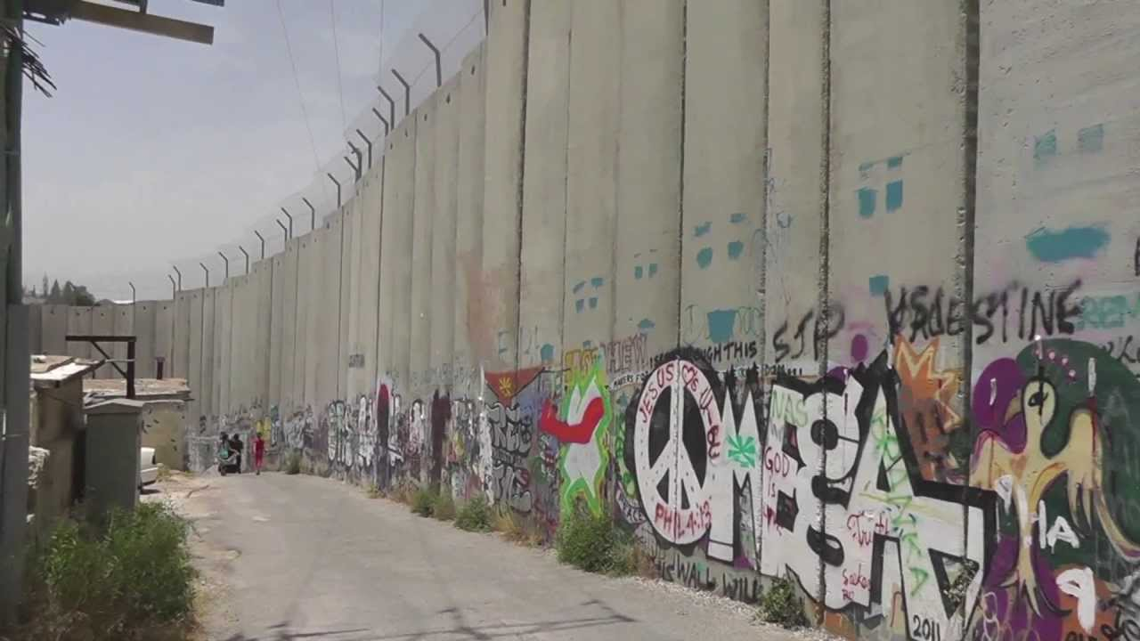 West Bank Palestine Banksy Art and the Barrier Wall (????? ????)(??? ?? ?????) - YouTube & West Bank Palestine: Banksy Art and the Barrier Wall (????? ...