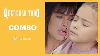 Quererlo todo: Sabina y Angelita sufren un terrible accidente | Capítulo 8 | Las Estrellas
