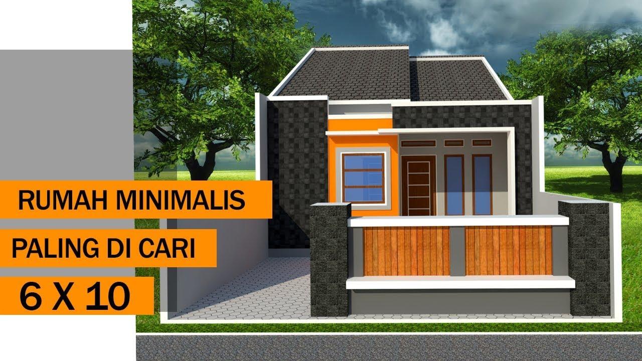 Desain Rumah Minimalis 6 X 10 Paling Di Cari Youtube