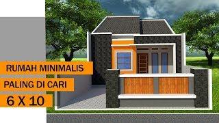 get rumah minimalis ukuran 6x10 pics - desain rumah