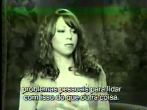 Mariah Carey - Rare Interview with Bruna Lombardi - Part I