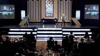 Electric String Group FUSE Linzi Stoppard & Ben Lee Headline GQ Awards (Electric Violin)