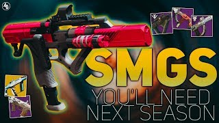 SMGs You will NEED next Season (Recluse Pinnacle Weapon) | Destiny 2 Season of the Drifter