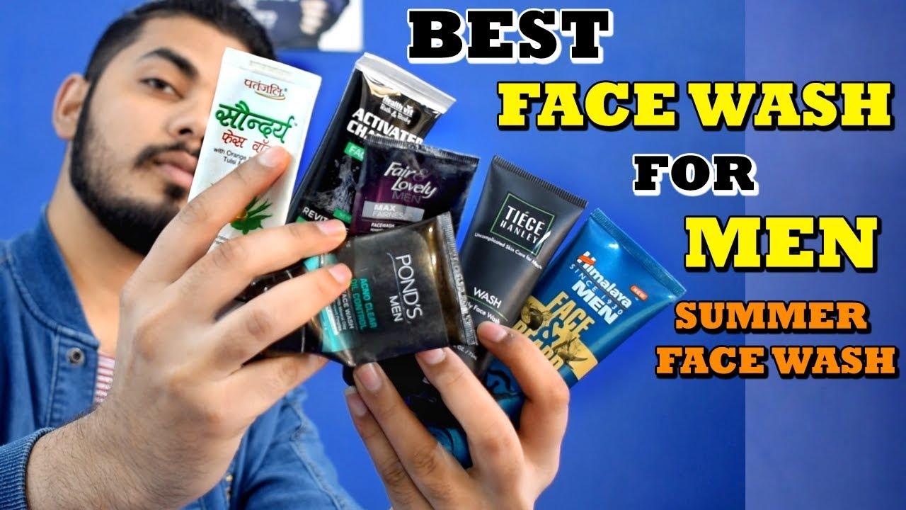 Best Face Wash For Men In India 2018 Best Skin Care Face Wash Men Asad Ansari
