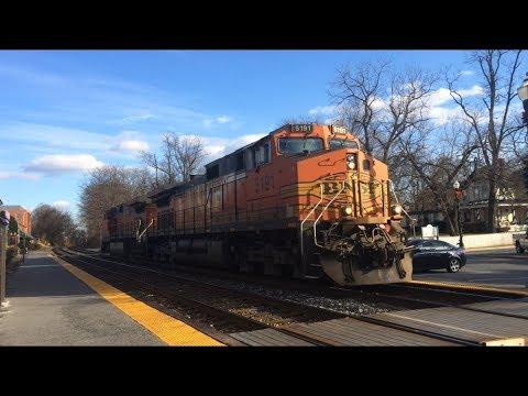 Railfanning at Gaithersburg and Washington Grove, MD