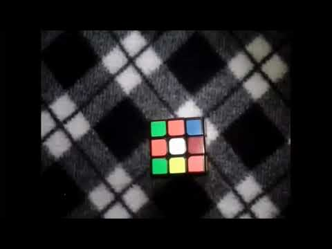 How to solve rubic cube 1st layer-tagalog -