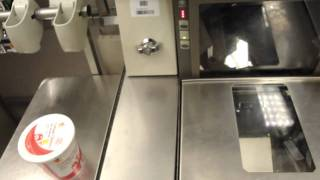 IBM Self Checkout with Takeaway Belt at Stop & Shop, Mashpee, MA