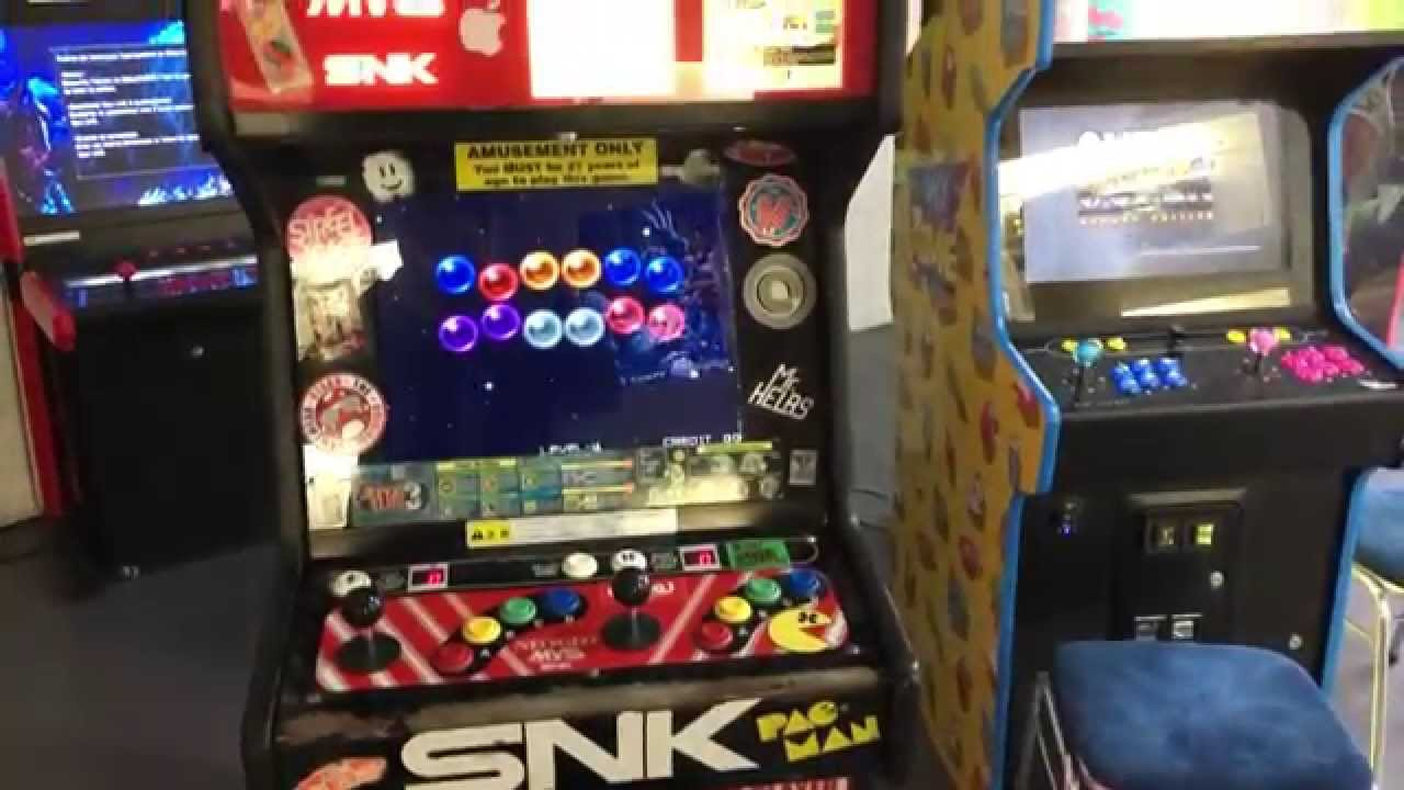 neo legend arcade store retro gaming arcade machines bartops in 4k youtube. Black Bedroom Furniture Sets. Home Design Ideas