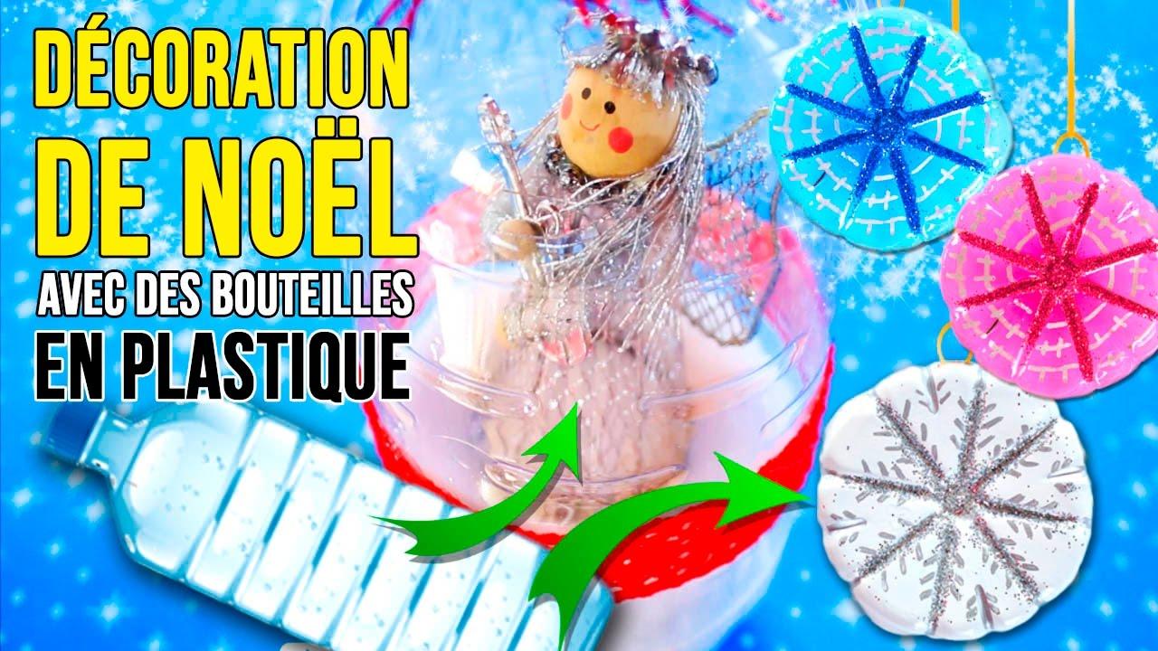 Diy de d coration recycl e de no l comment faire d cor for Youtube decoration de noel