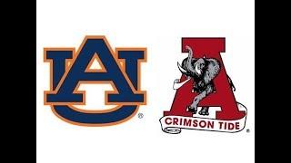 1986 Iron Bowl, #14 Auburn vs #7 Alabama (Highlights)