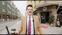 Punavuori kaksio, Helsinki, myydyt asunnot. Kiinteistönvälittäjä Vauramo.