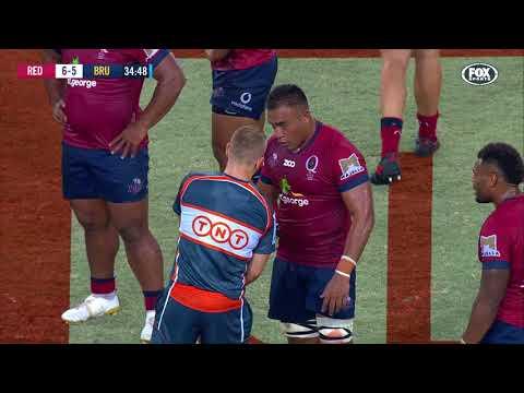 HIGHLIGHTS: Super Rugby 2018 Week #3: Reds v Blues