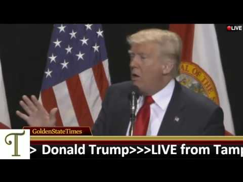 Highlight:Donald Trump Rally from Tampa, Florida(Convention Center) {6 11 16}