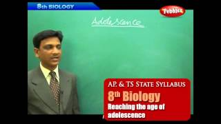 AP & TS State Board Syllabus | 8th Biology | Reaching the age of adolescence | Live Video