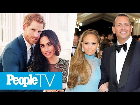 Prince Harry & Meghan Markle's Royal Engagement, J-Rod & More Of 2017's Top Love Stories | PeopleTV