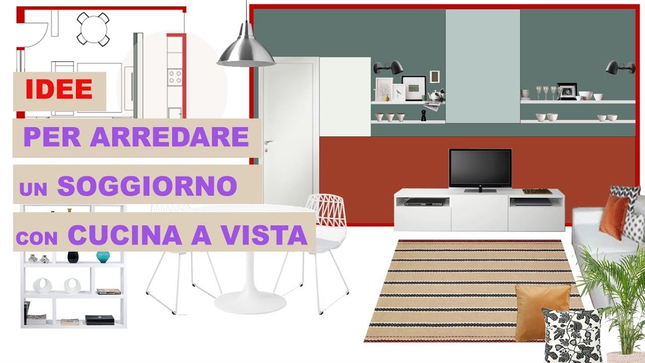Optare per unire cucina e soggiorno in un open space di 25 mq ha un vantaggio. Idee Per Arredare Un Soggiorno Con Cucina A Vista Spazio Unico Di Mq 25 Youtube