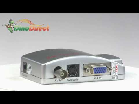 Portable BNC to PV Signal Converter for CCTV Surveillance System TV-501  from Dinodirect.com