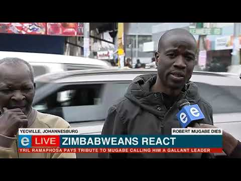 We are refugees because of Robert Mugabe: Zimbabweans