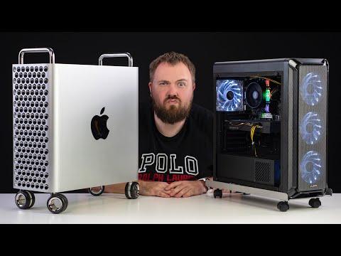 Что может ПК по цене колесиков Mac Pro?