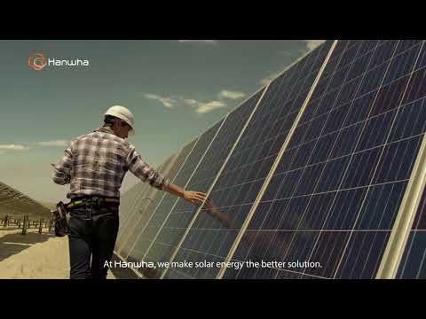 [Hanwha Solar Energy] Powering a pure world