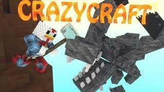 """Minecraft   CrazyCraft - OreSpawn Modded Survival Ep 43 - """"WORST LUCK EVER"""""""