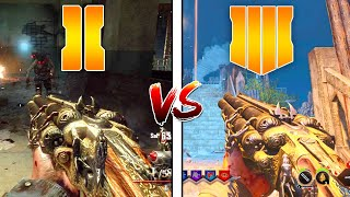 MOB OF THE DEAD vs BLOOD OF THE DEAD (CALL OF DUTY BLACK OPS 4 vs BLACK OPS 2)