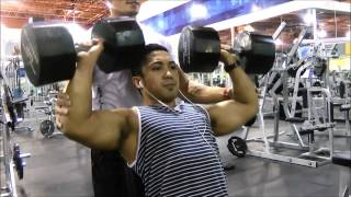 main workouts on shoulder days eat sleep gym song beast mode
