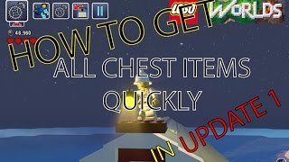Lego Worlds How To Get All Chest Items Quickly In update 1