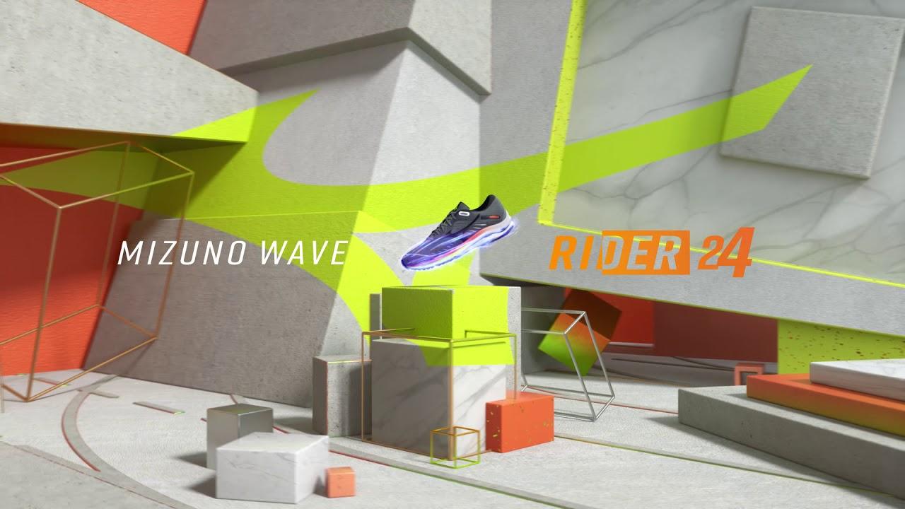 Mizuno Running: Wave Rider 24 featuring MIZUNO ENERZY
