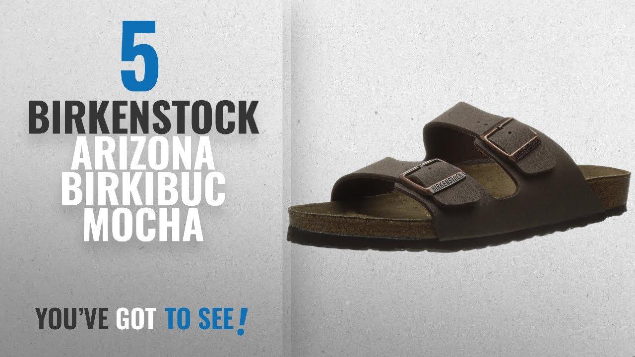 mocha Sandal Birkenstock 5 Top Arizona Birkibuc Mocha2018Unisex xBoedC