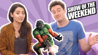 Show of the Weekend: Doom 1, 2 & 3 on Switch and Jane's Rip and Tear Doom Guy Collage Challenge
