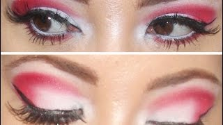 Red Eye Shadow Look Thumbnail