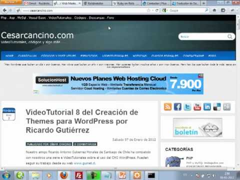 VideoTutorial 1 del Curso de Ruby on Rails