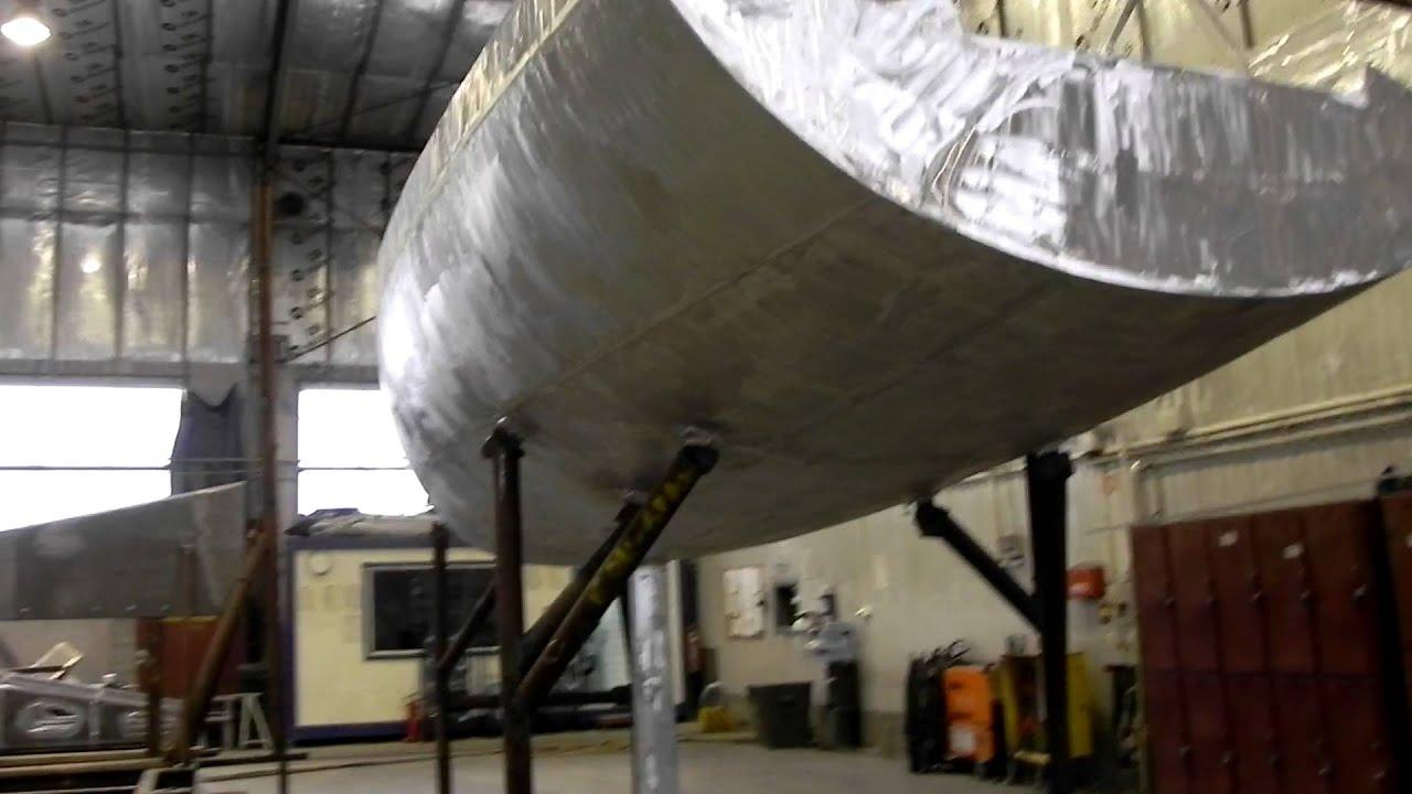 VK35 aluminum performance sailing yacht - YouTube