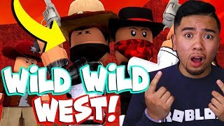 REACTING TO PHANTOM OF THE WEST: A WESTERN ROBLOX MOVIE!
