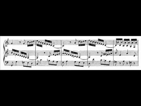 J.S. Bach - BWV 529 (1) - Sonata V - Allegro C-dur / C major