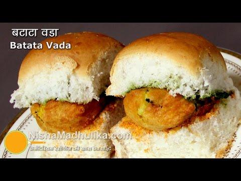 Mumbai Vada Pav  -  Batata Vada Pav Recipe  - Aloo vada Pav thumbnail